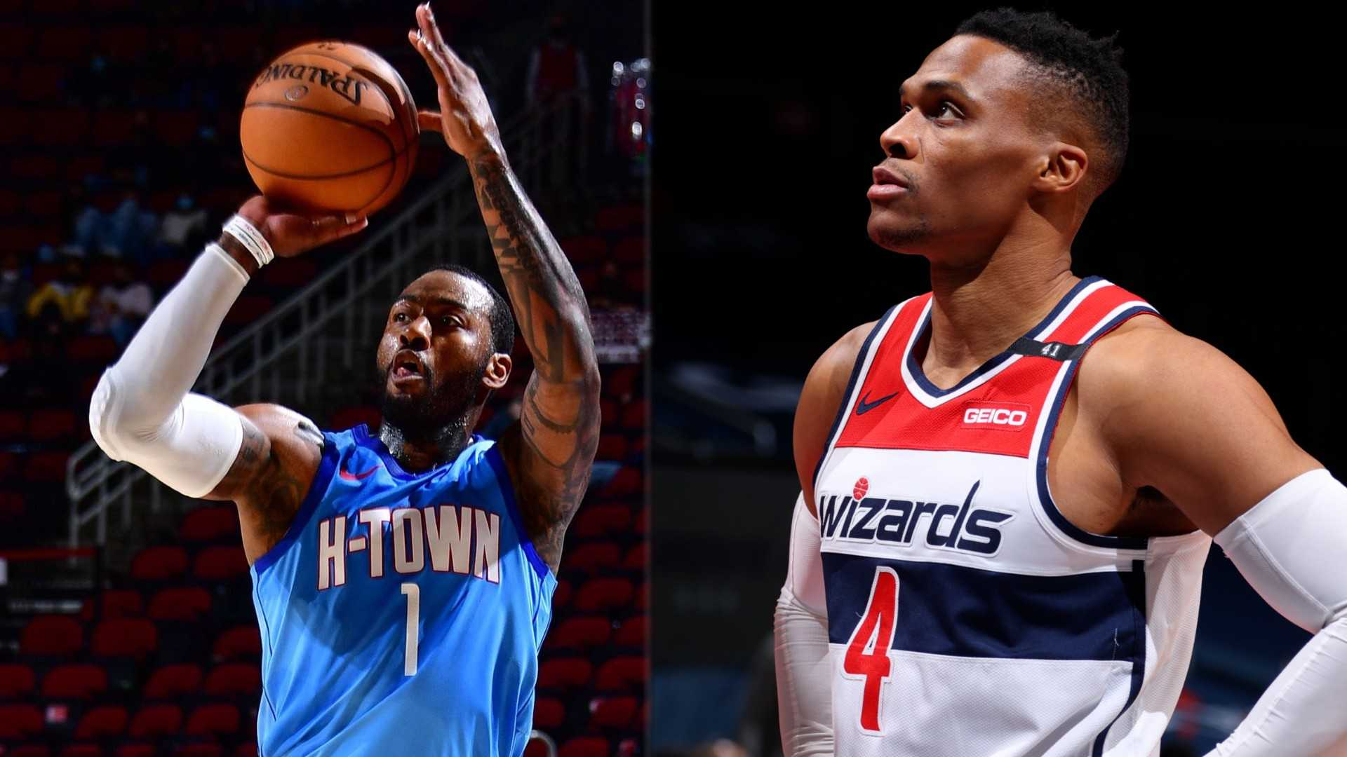 Wall and Westbrook: Which team is better off?