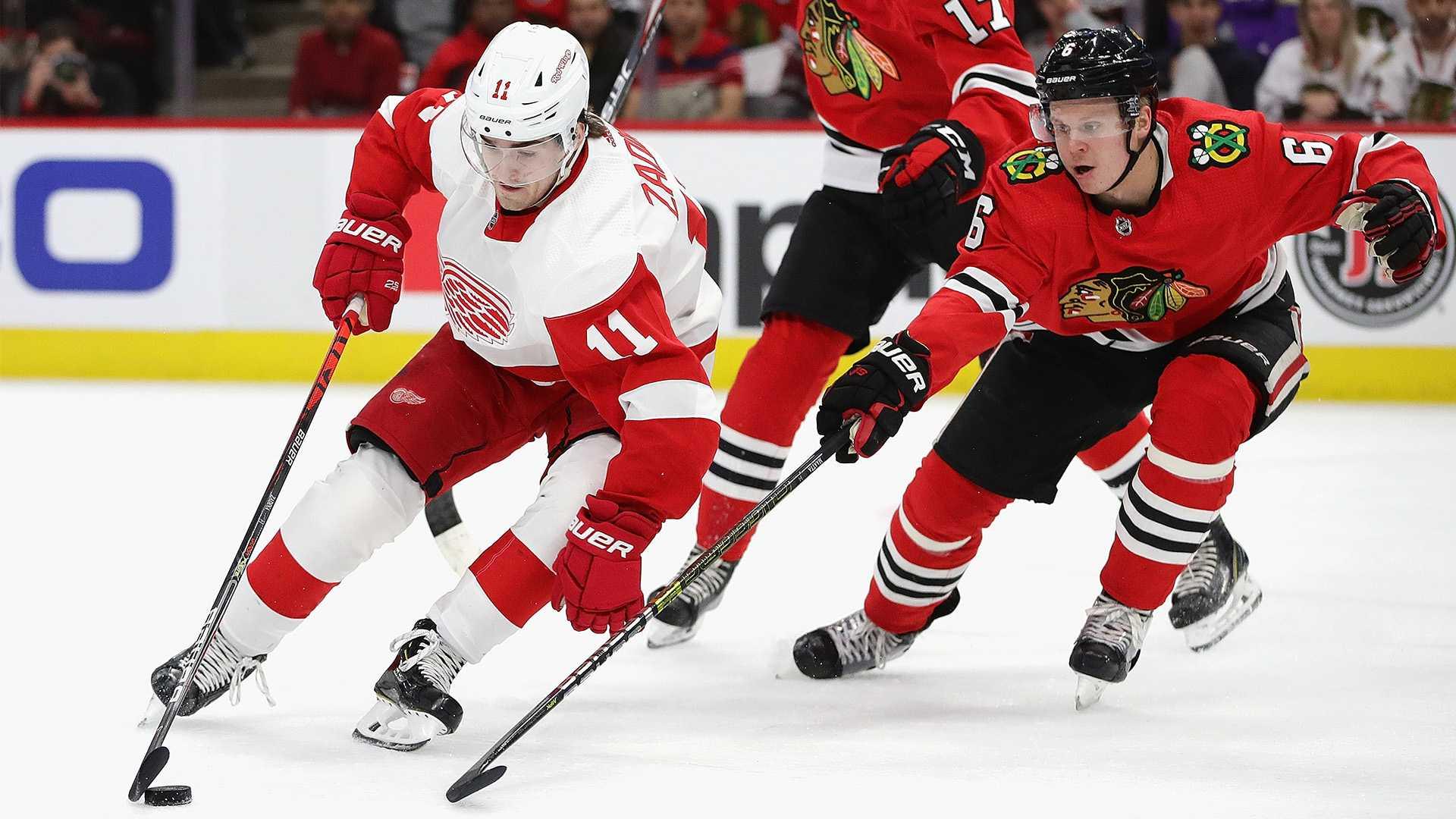 Red Wings vs. Blackhawks: Rivalry Renewed