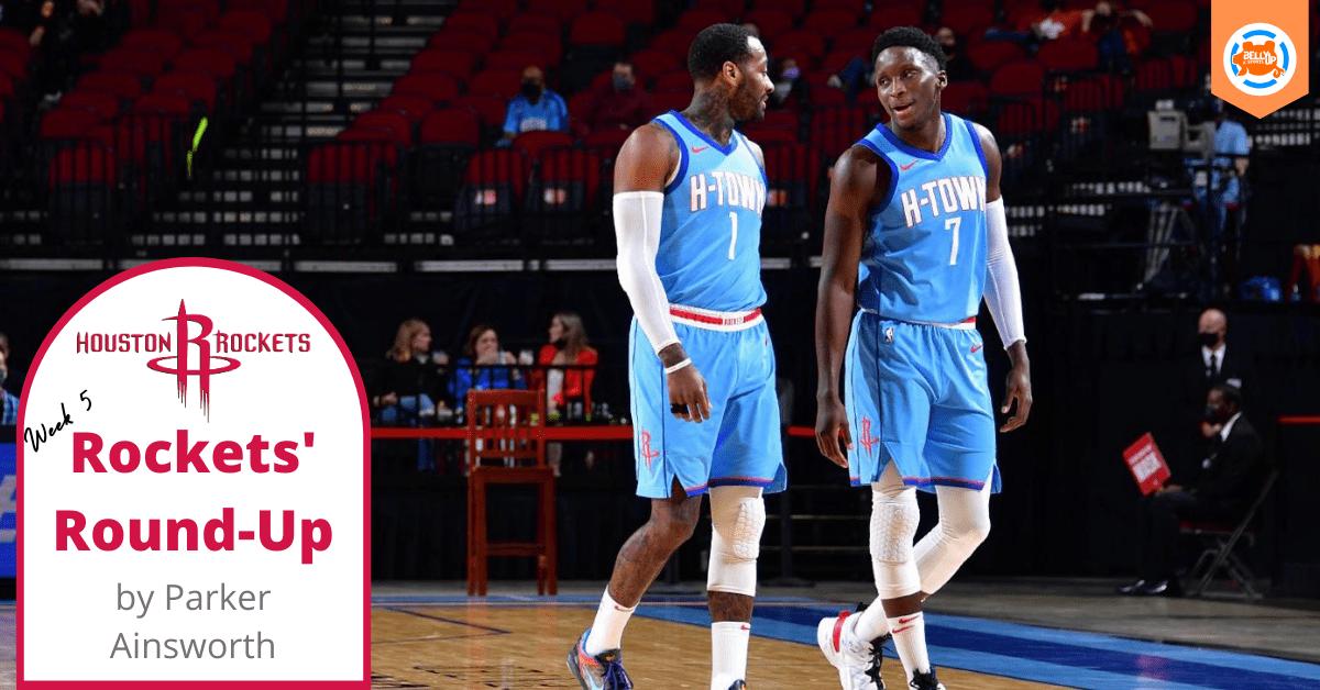 Houston Rockets' Round-Up: Week Five