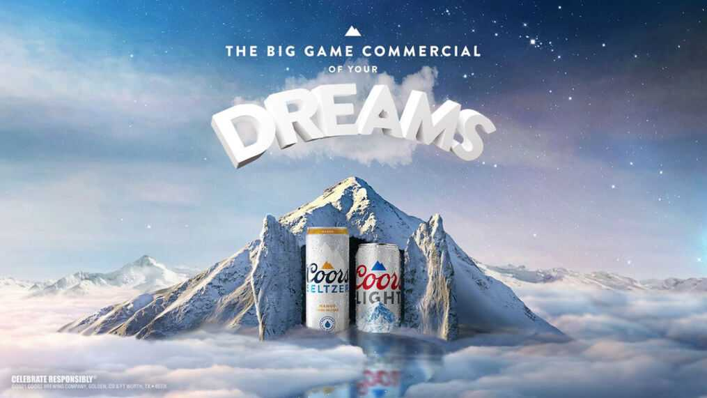 Coors Light Is Implanting Beer Ads Into People's Dreams!