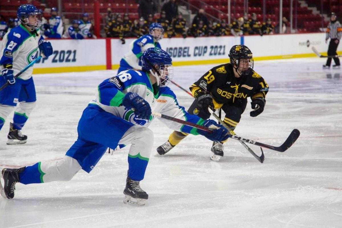 Connecticut vs Boston garnered 30k for their tilt during the NWHL: 2021 Isobel Cup