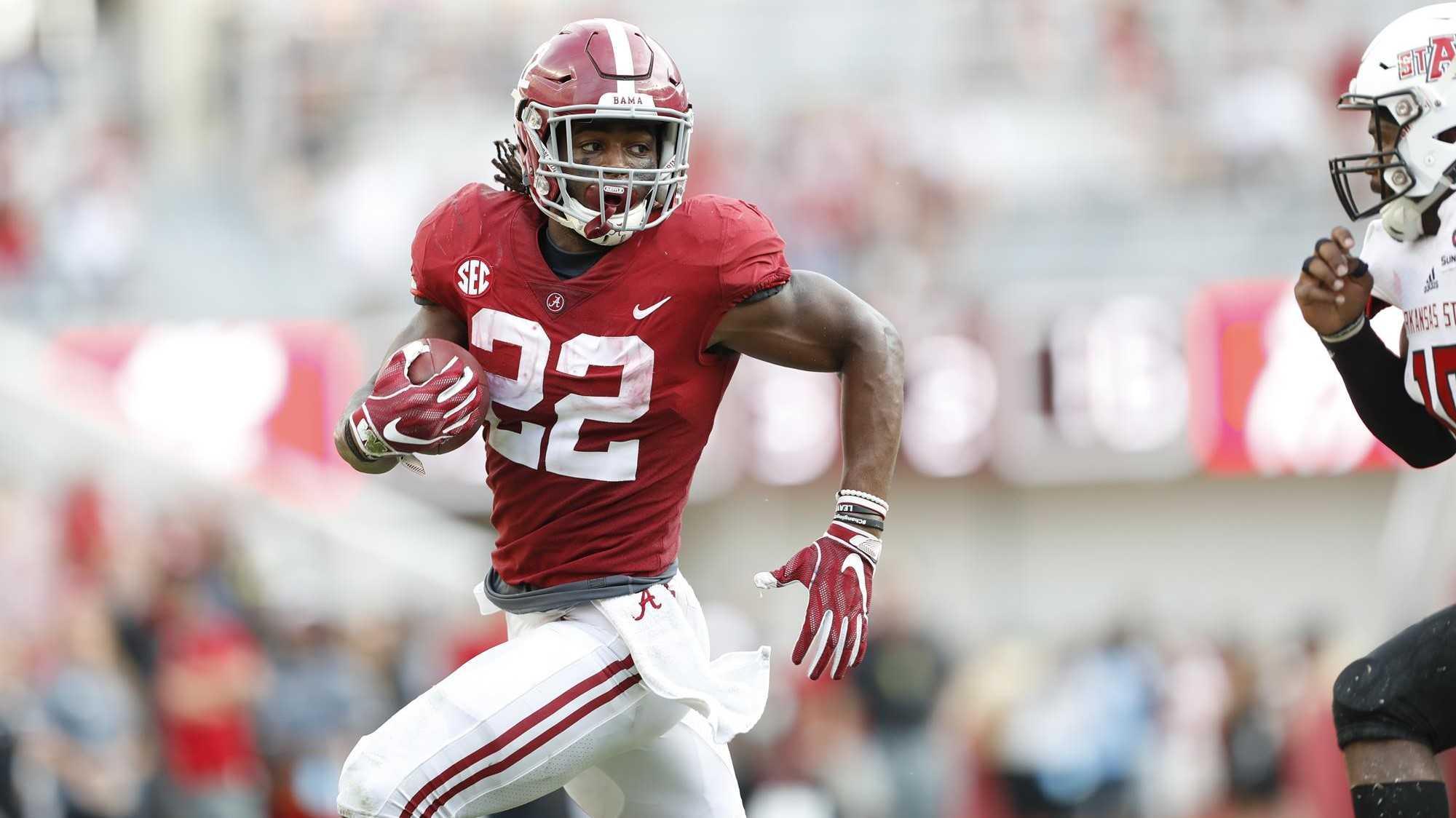 Top Five 2021 NFL Draft Running backs