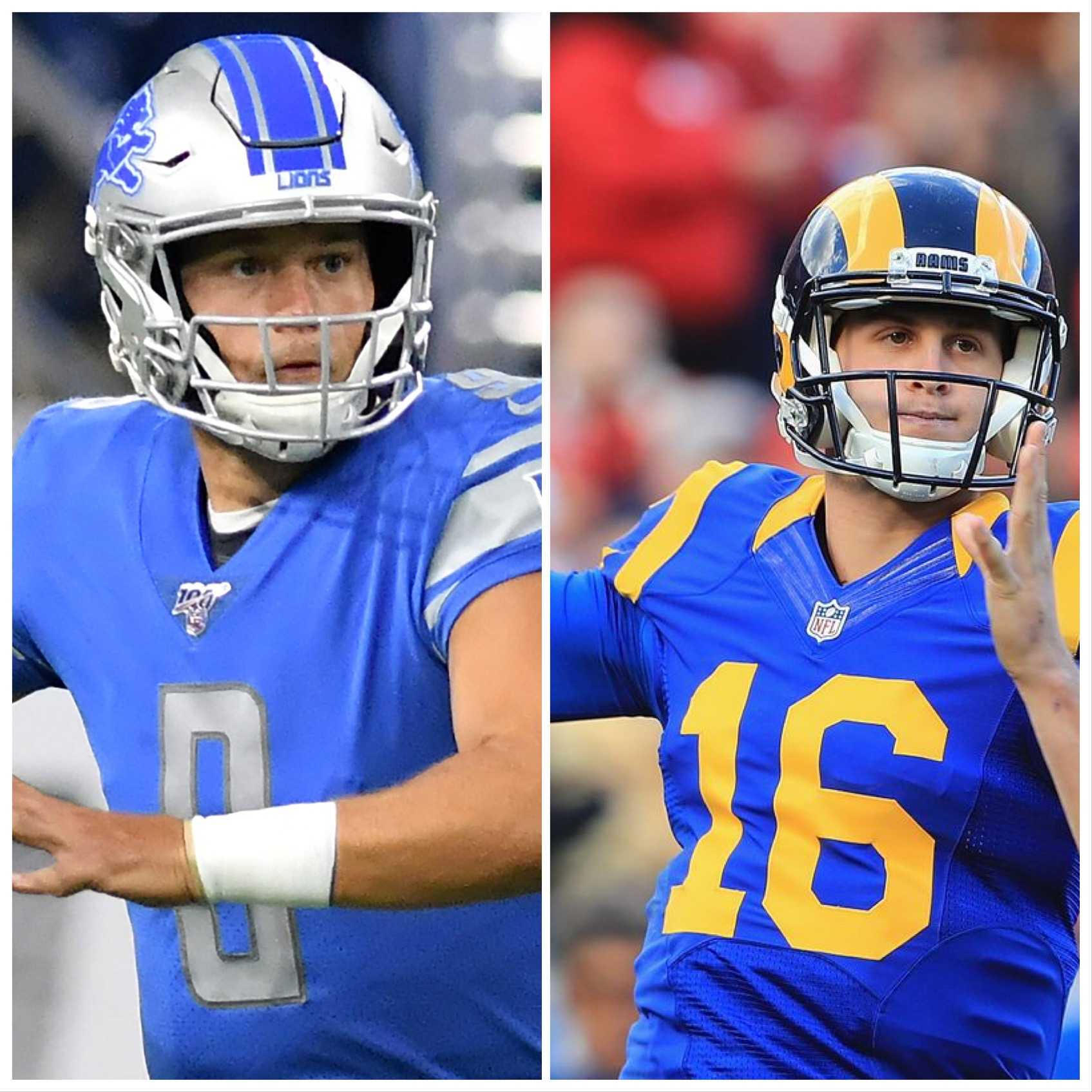 Jared Goff and Matthew Stafford Get Used to New Surroundings