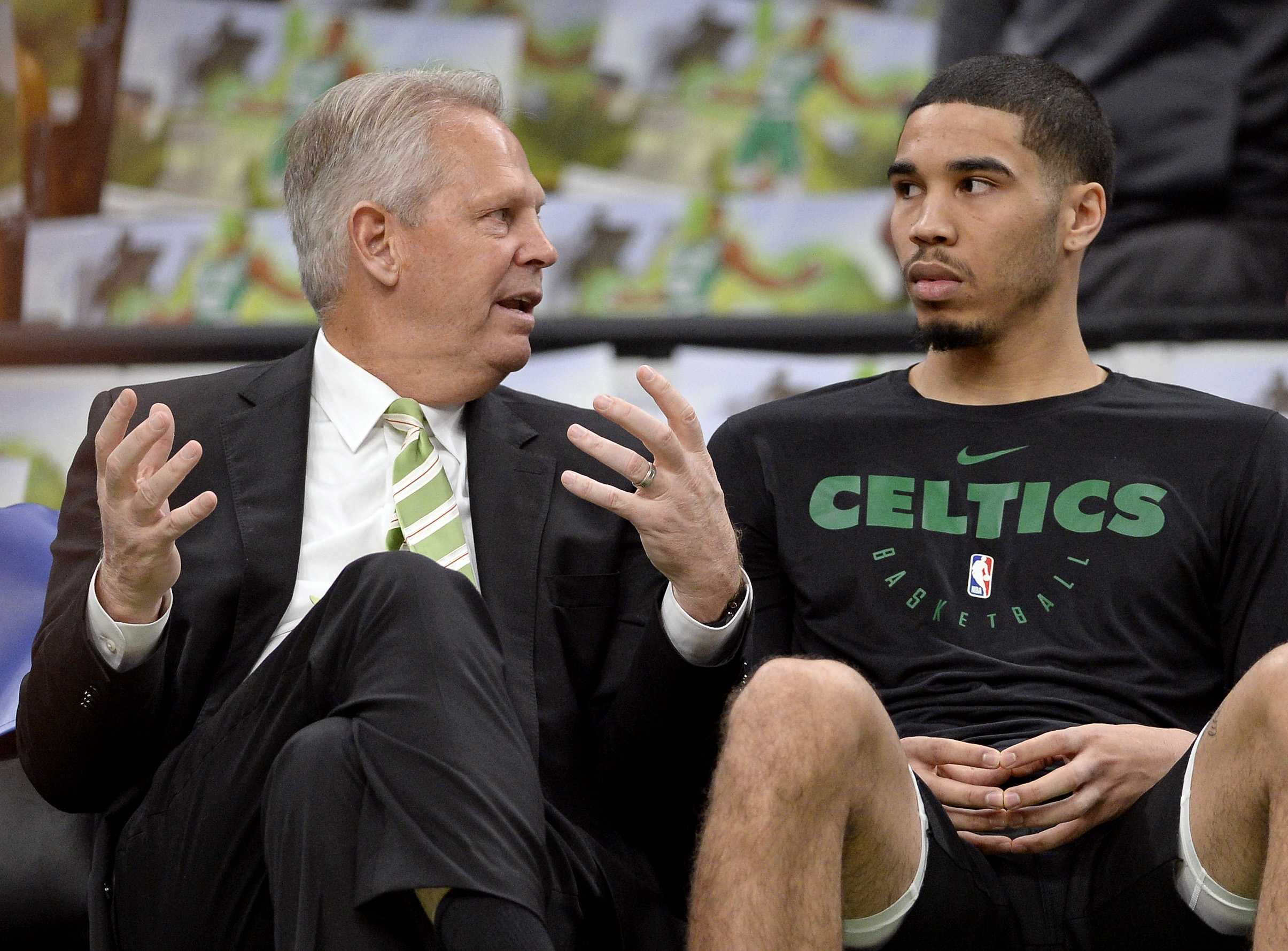 Danny Ainge is Playing Flat-Footed