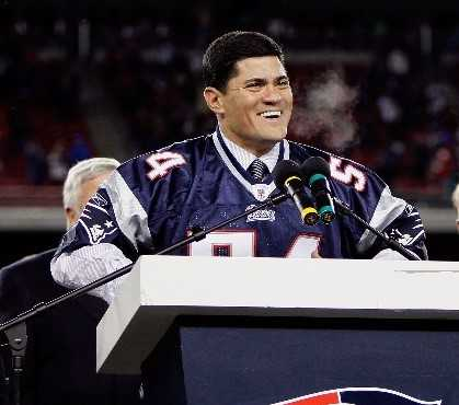 Tedy Bruschi (Photo by Jim Rogash/Getty Images)