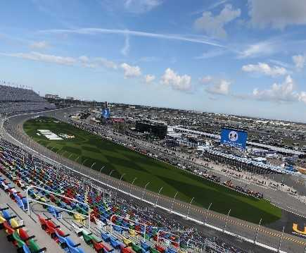 Daytona International Speedway, Home of the 2021 Daytona 500 (Photo by Brian Lawdermilk/Getty Images)