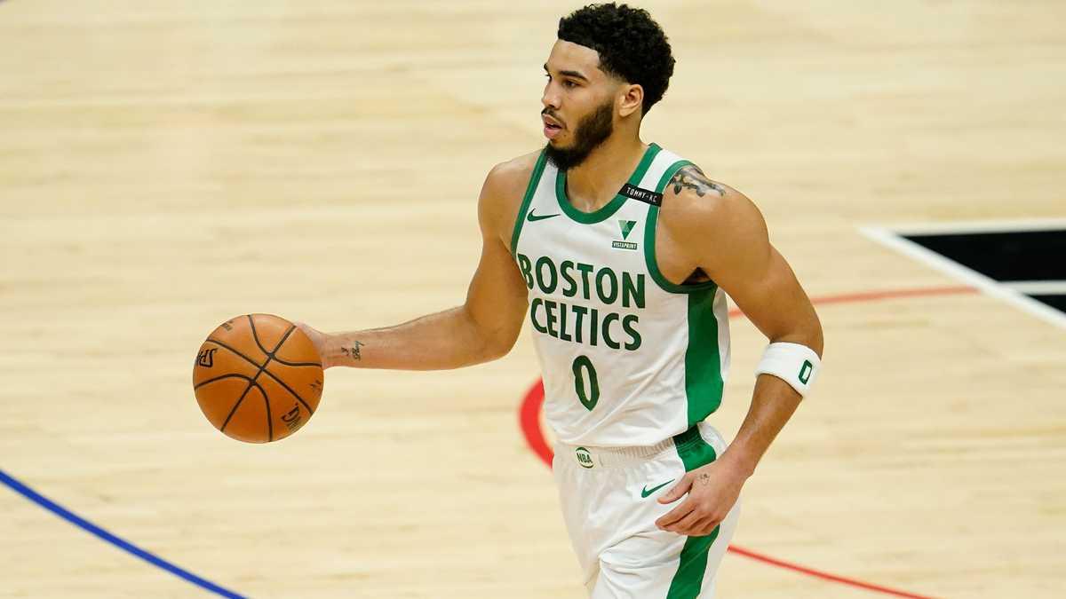 Jayson Tatum Pushes Celtics Past Surging Wizards