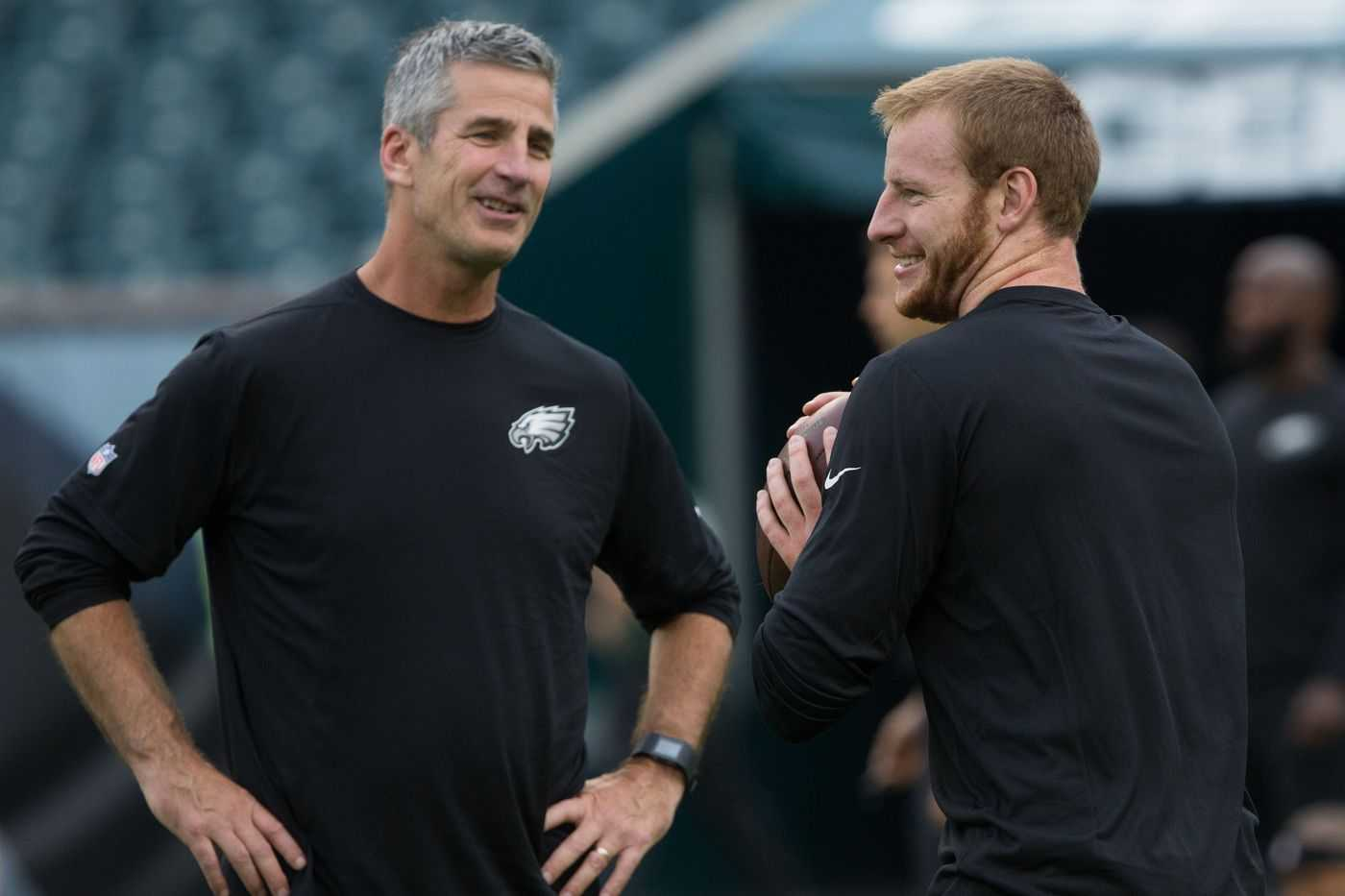 The Myth Carson Wentz Was Better With Frank Reich