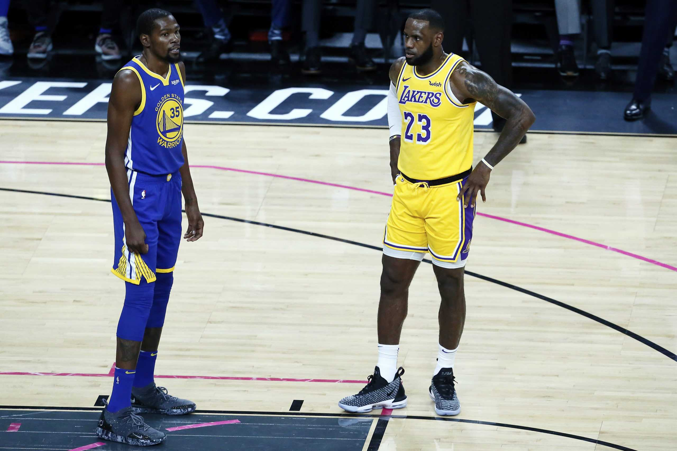 How Much Help Does Kevin Durant Need to Beat LeBron?!