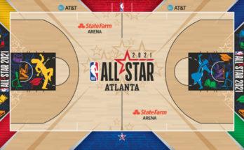 NBA All-Star 2021 court design
