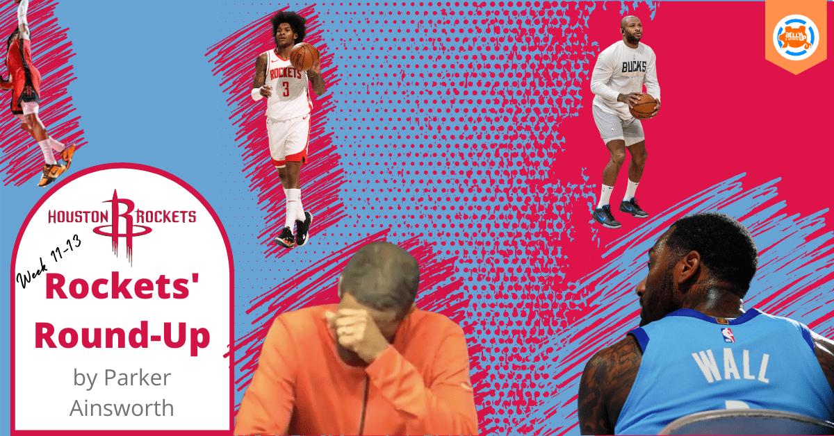 Houston Rockets' Round-Up, Weeks 11 -13