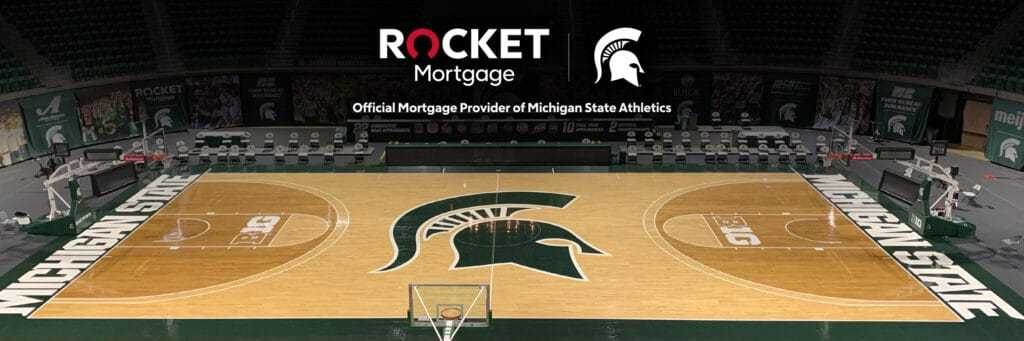 MSU Presented by Rocket Mortgage announcement