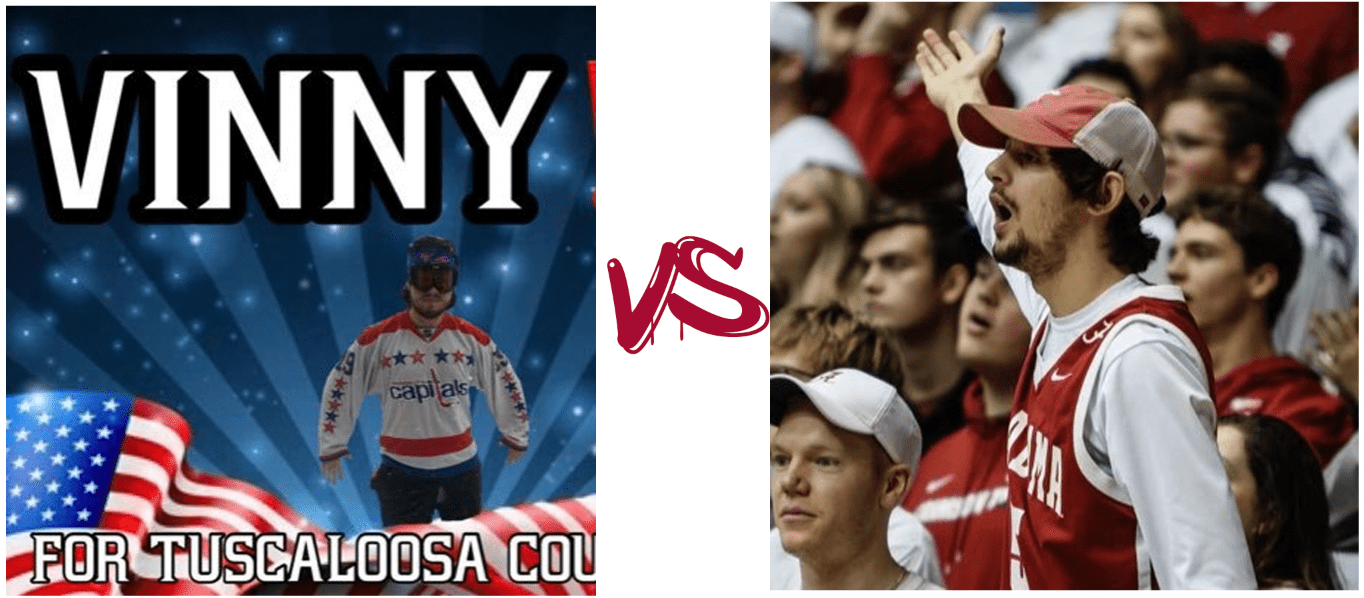 Gump Madness matchup: Vinny vs Anthony
