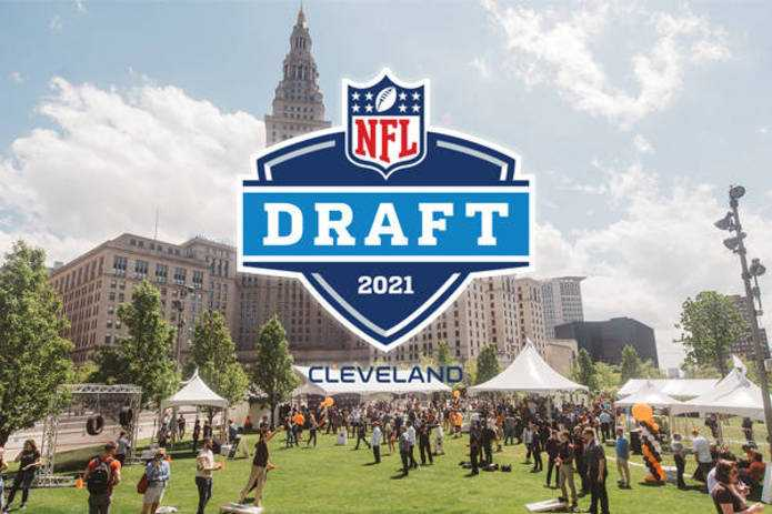 2021 NFL Draft in Cleveland