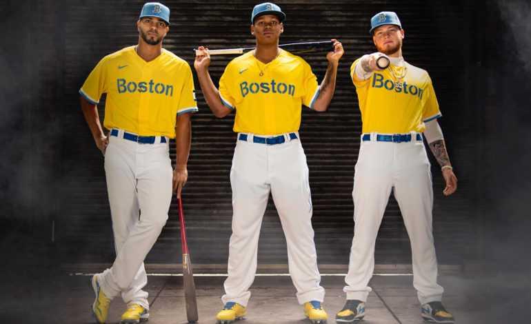 New Red Sox Jersey: Boston Banana Sox?