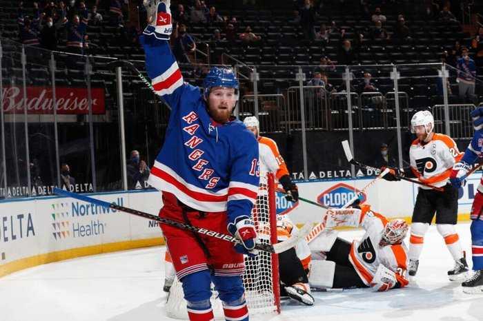 Rangers Keep Slim Playoff Hopes Alive