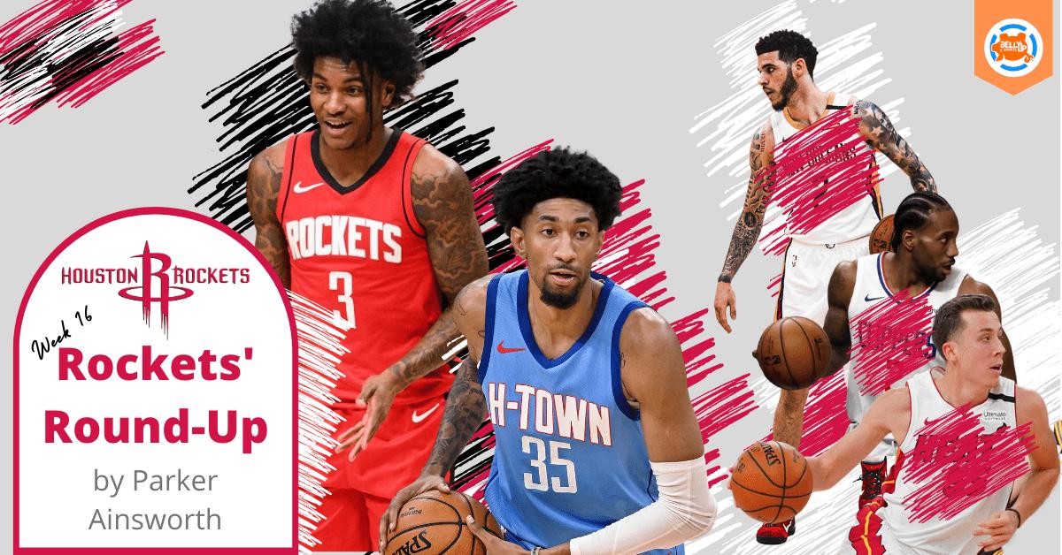 Houston Rockets' Round-Up Week 16