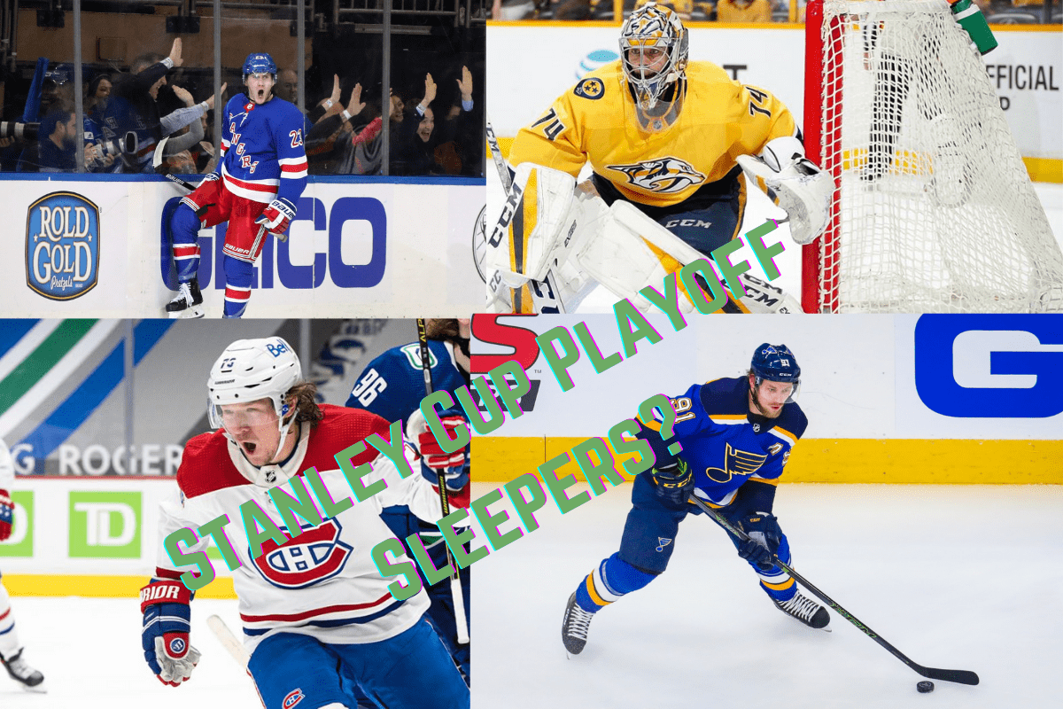 Which Four NHL Teams are Potential Stanley Cup Playoff Sleepers?