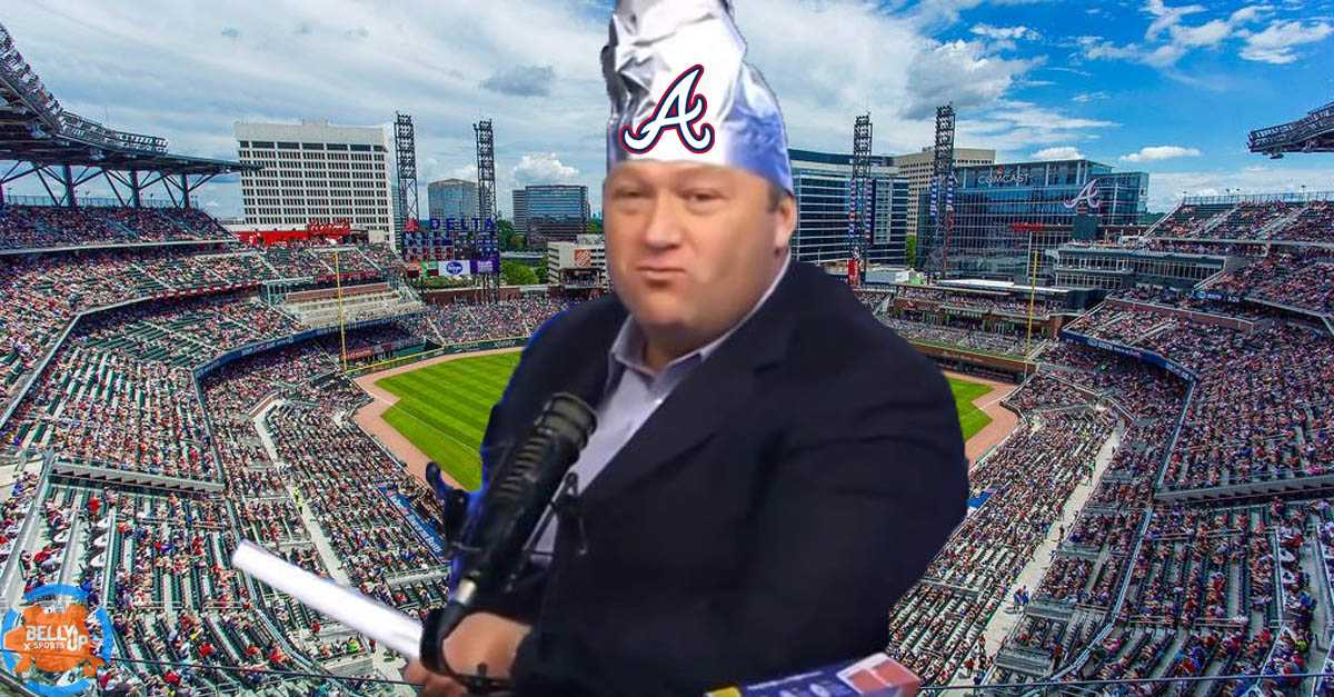 Let's put on our tinfoil hats to discuss the Atlanta Braves loss