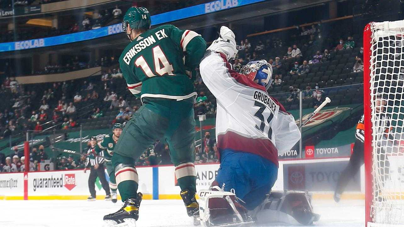 Minnesota welcomed fans back to the Xcel Center!