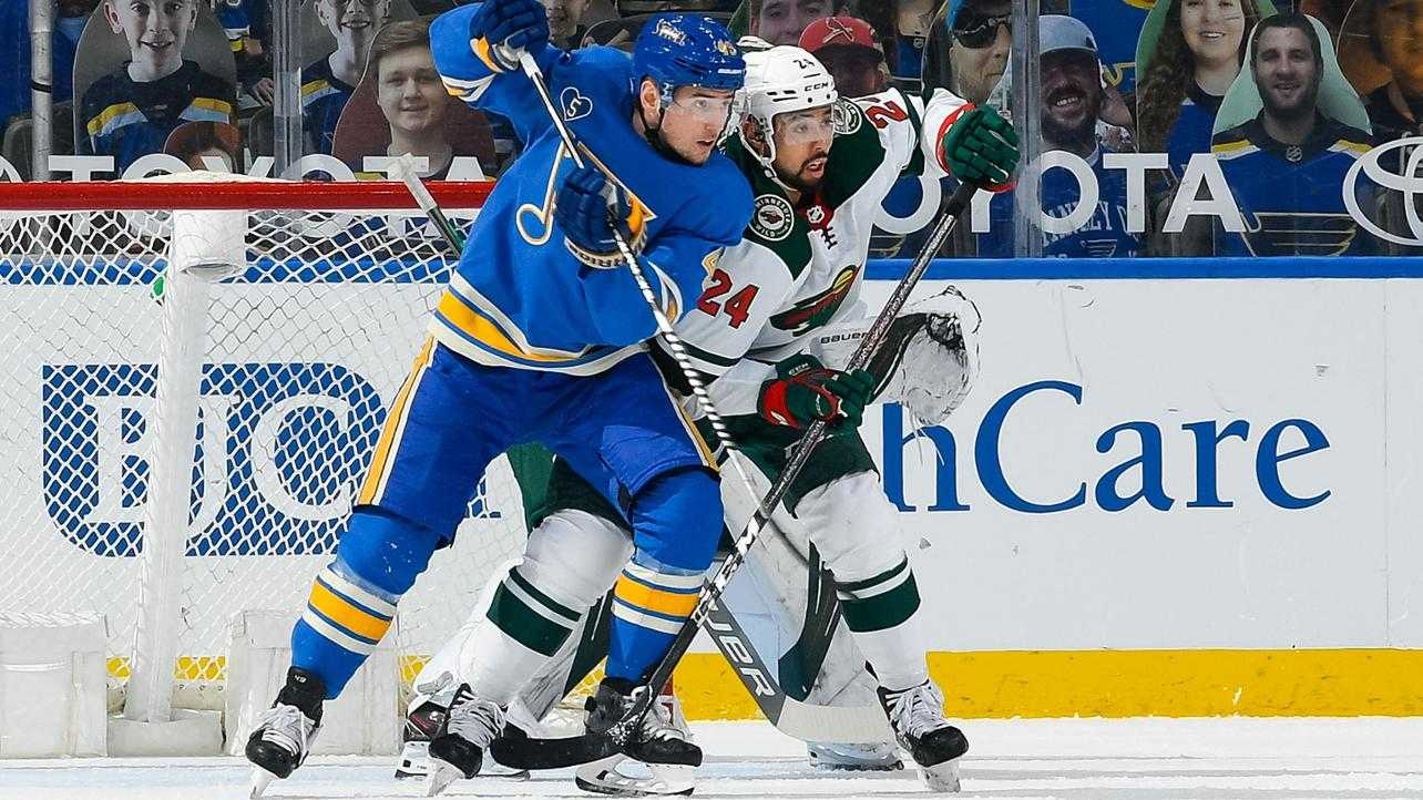 Wild take an early Overtime loss against the Blues.