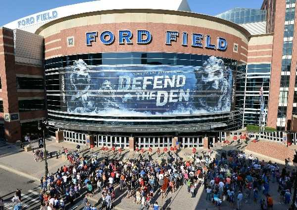 Ford Field (Photo by Mark Cunningham/Getty Images)