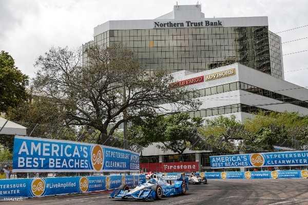 Indycar Race in St Petersburg
