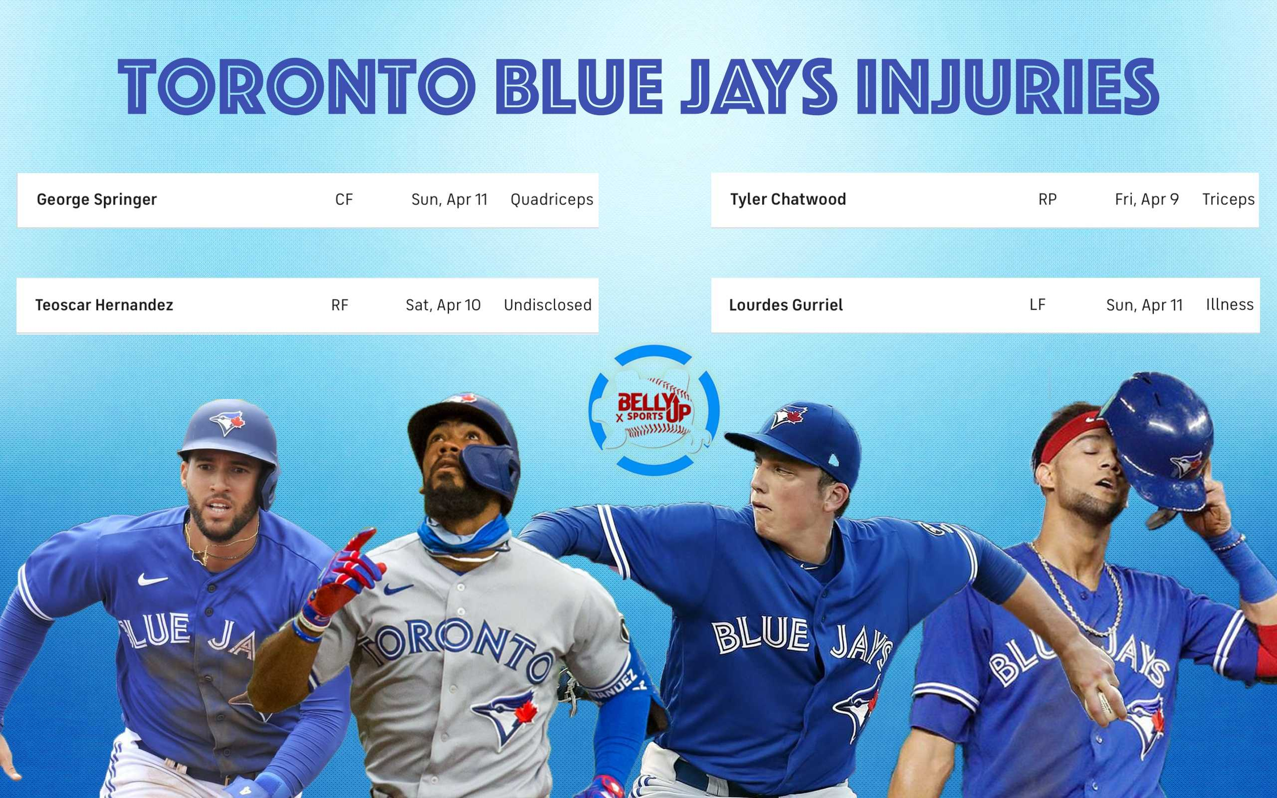 The Blue Jays are getting hammered with injuries