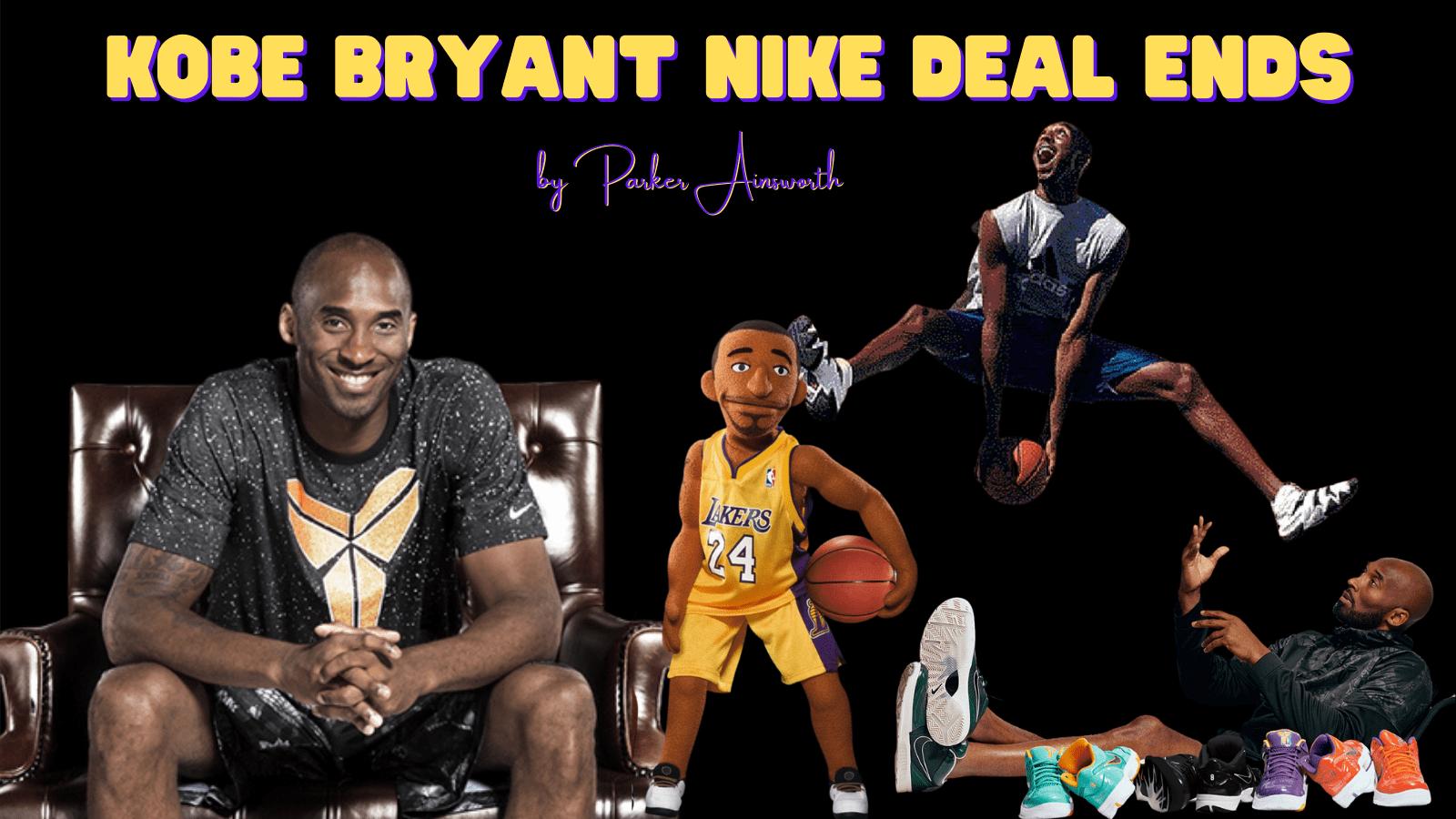 Kobe Bryant Nike Deal Ends