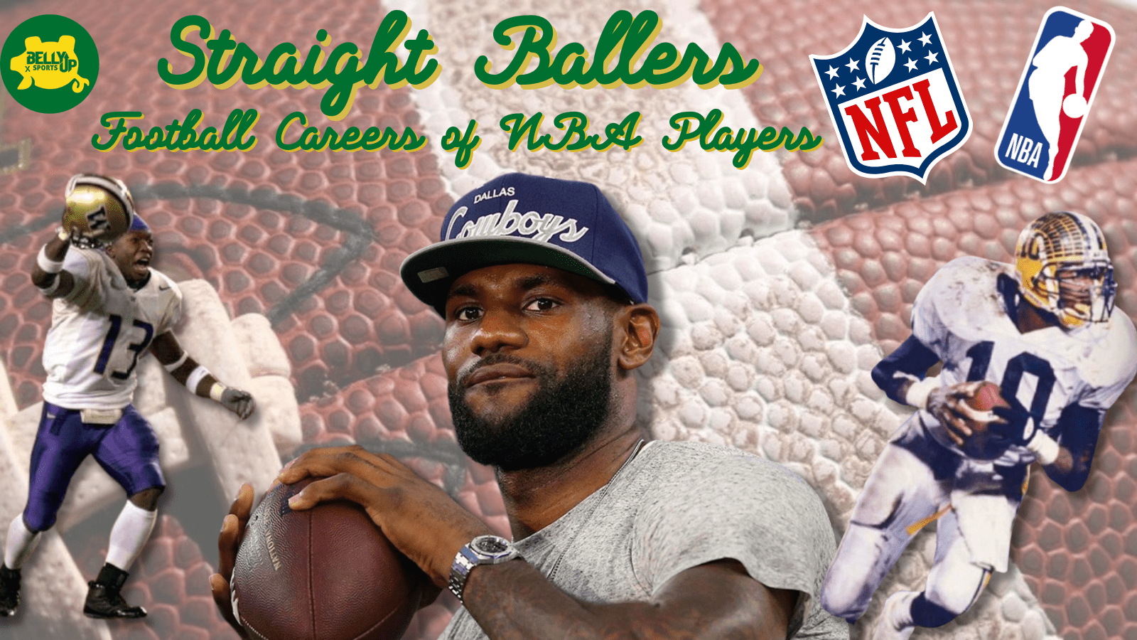 Straight Ballers: Football Careers of NBA Players
