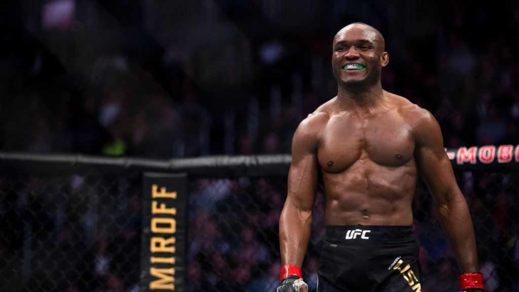 UFC Welterweight Champion Kamaru Usman