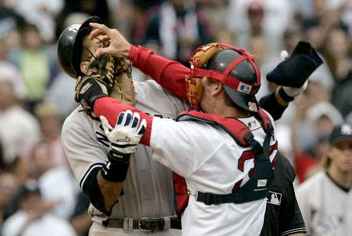 Varitek's legacy grows with the fight that shaped the modern Red Sox Yankees rivalry.