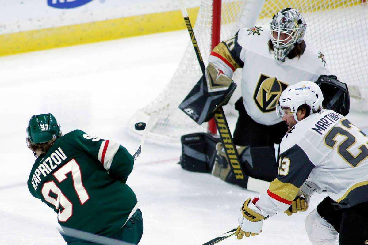 NHL Playoffs Round One: Wild vs Golden Knights