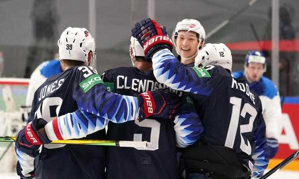 USA Hockey Beats Kazakhstan 3-0