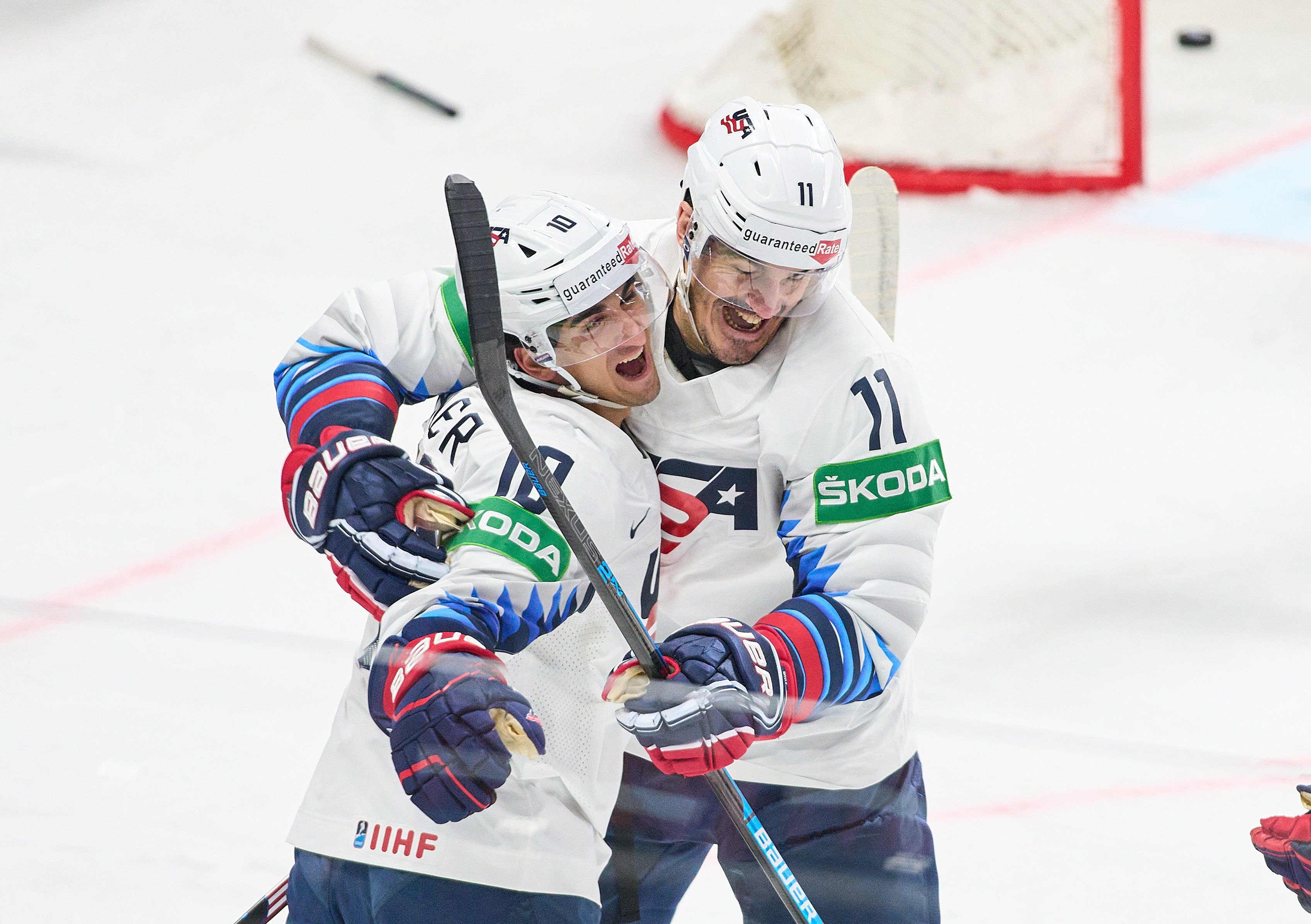 USA Hockey Knocks Off Latvia 4-2