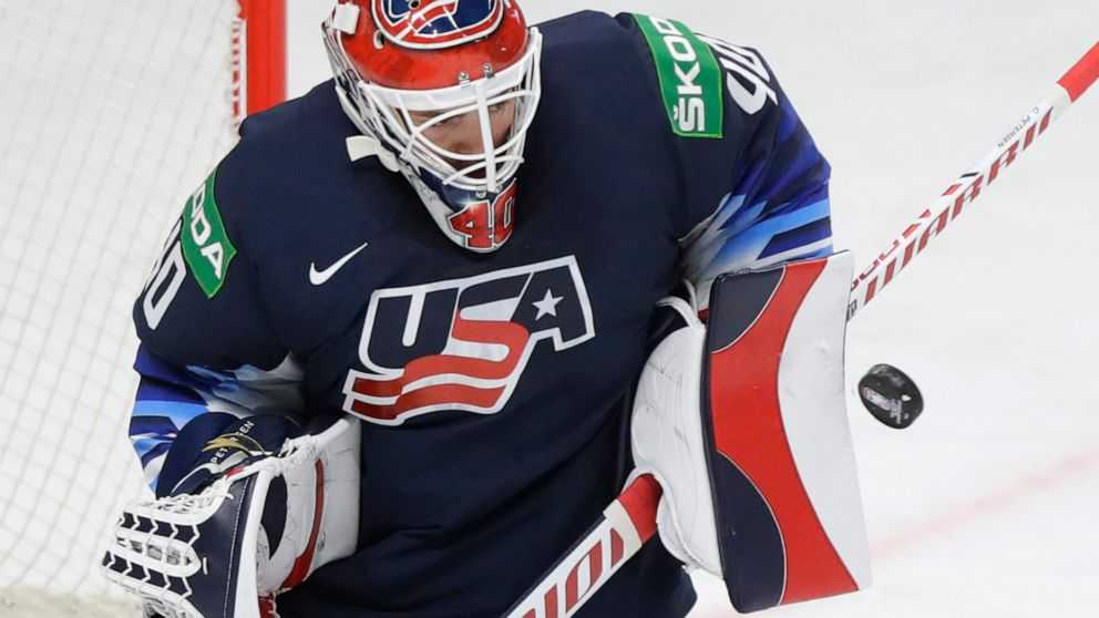 USA Hockey Shuts Out Germany 2-0