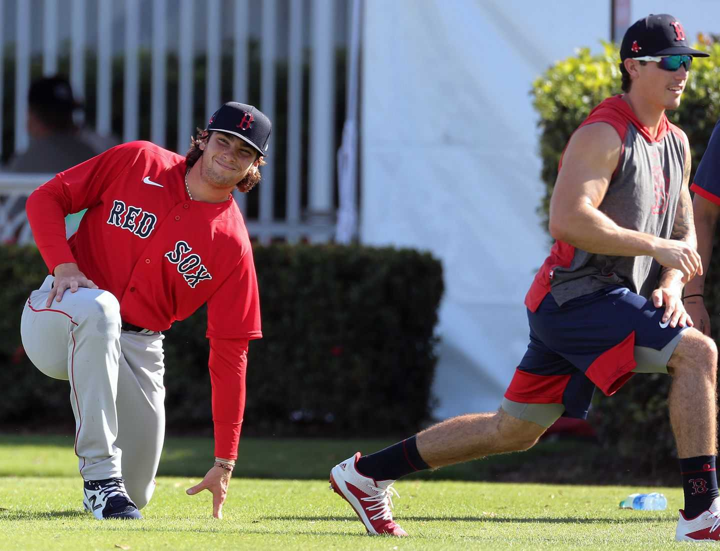 A Pair of Red Sox on Team USA