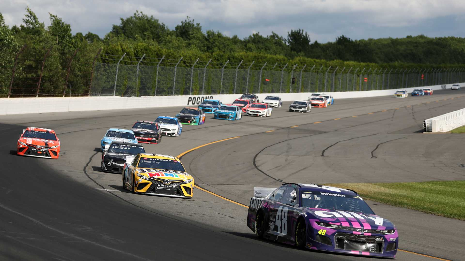 NASCAR at Pocono Recap: Bowman and Busch See Victory Lane