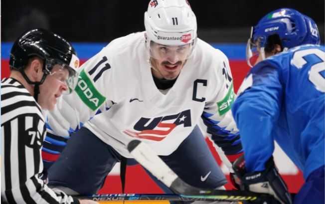 USA Hockey Wins Group B