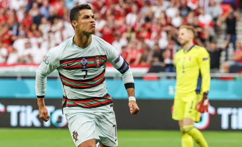 Cristiano Ronaldo Sinks Coca-Cola and Hungary at Euros