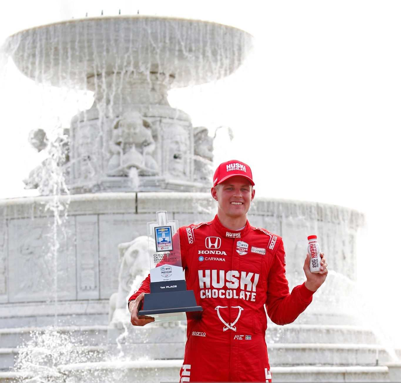 Marcus Ericsson won his first race in Detroit
