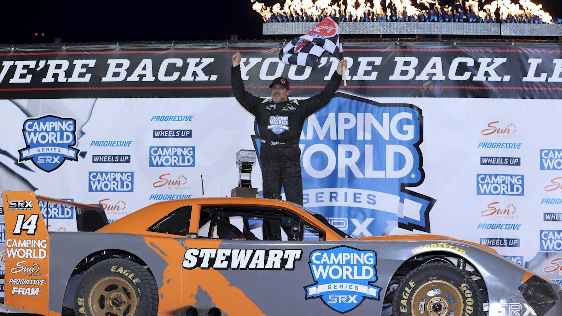 SRX Eldora Recap: Stewart Claims Second Win
