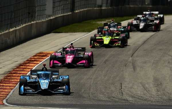 Indycar Heads to Dairy Land for a One Way Ride on the Road America Rollercoaster