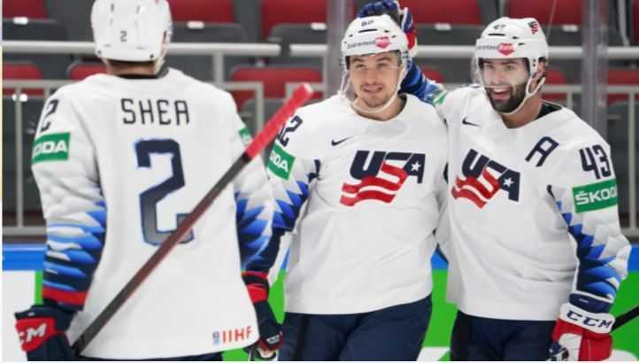 USA Hockey Advances to the Semifinals