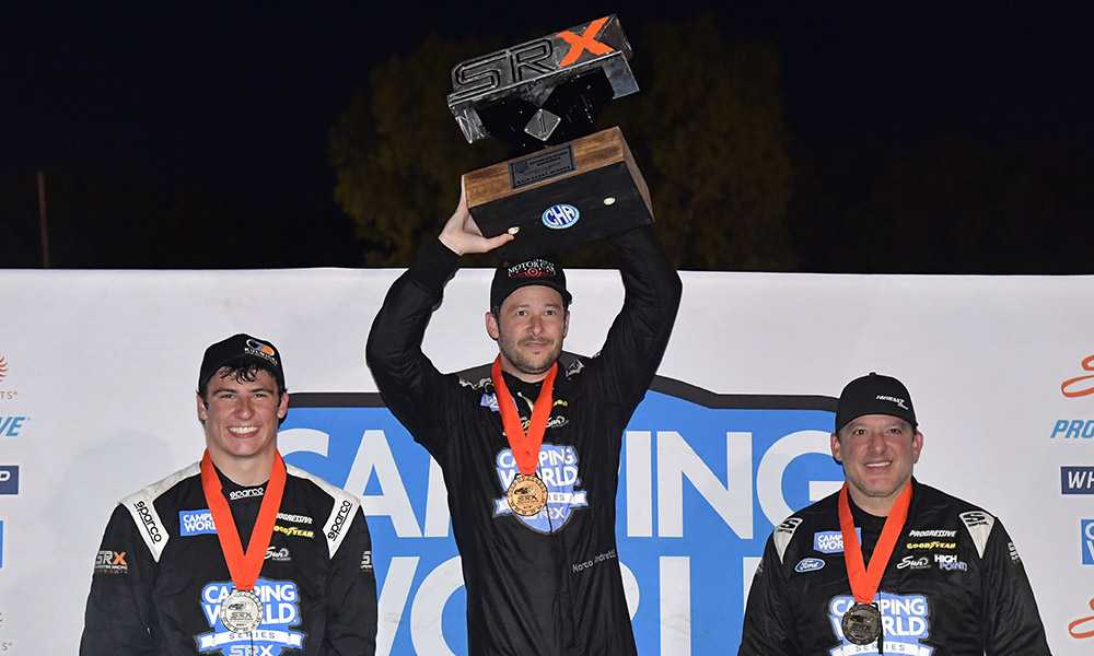SRX at Slinger Recap: Andretti Claims First Win In Overtime!