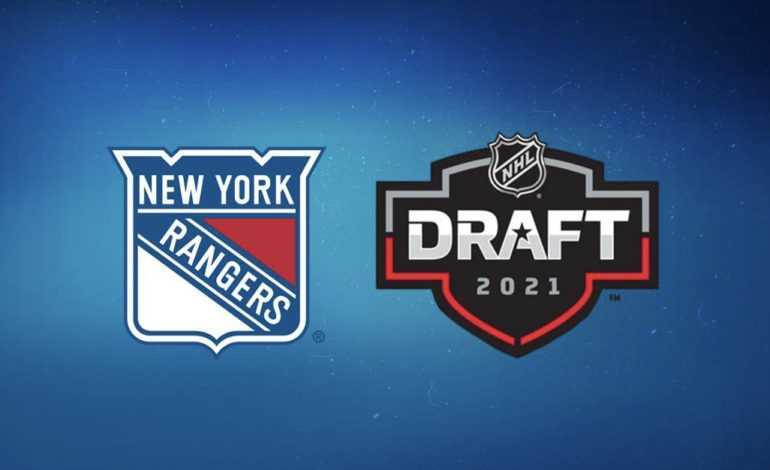 New York Rangers 2021 NHL Draft Preview