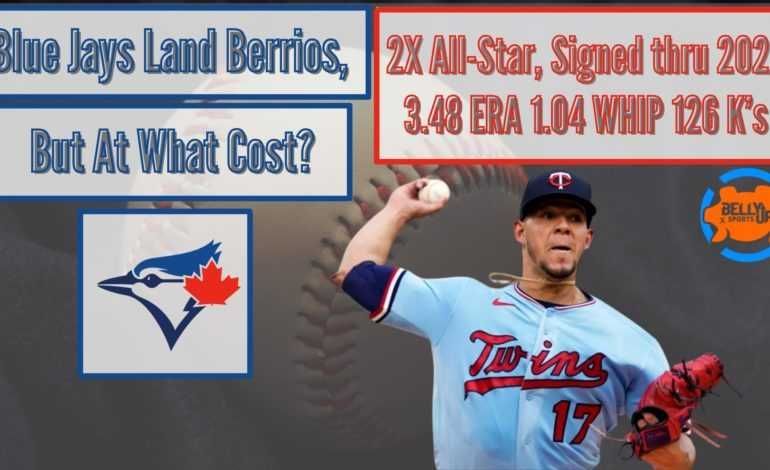 Blue Jays Land Berrios, But At What Cost?