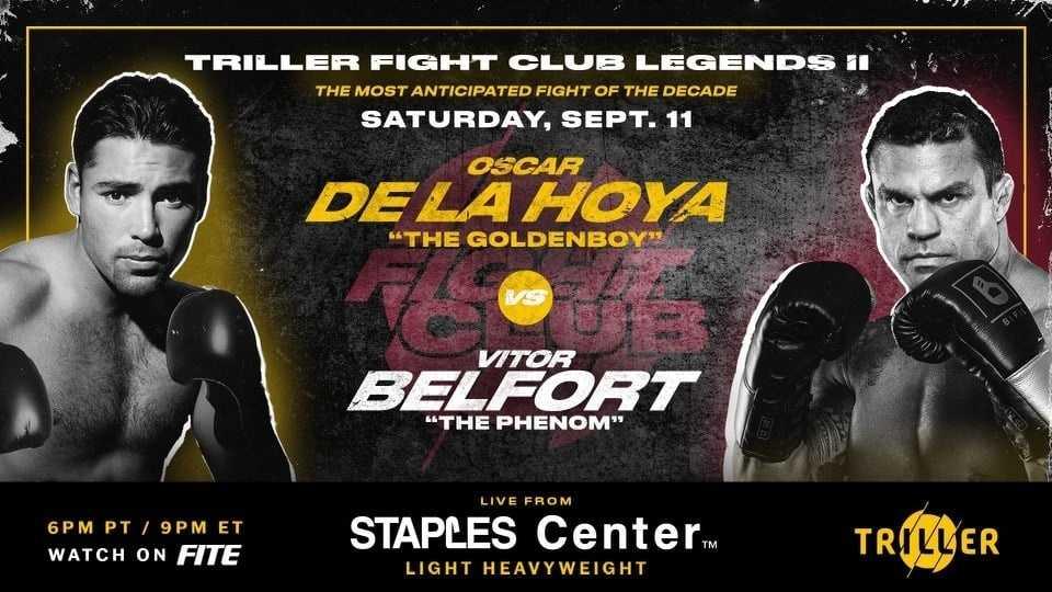 De La Hoya is having a midlife crisis. First Belfort, then Canelo?
