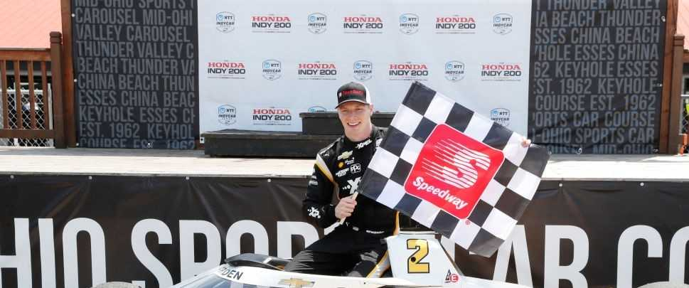 Josef Newgarden Finally Triumphs by Winning at Mid Ohio