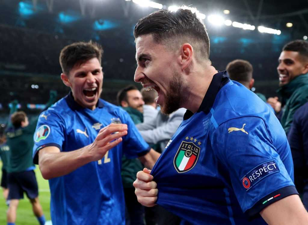 Italy celebrates yet another victory at Euro 2020.